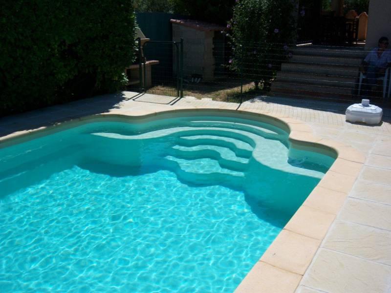 Vente et pose de piscine coque polyester plaisance du - Piscine municipale plaisance du touch ...